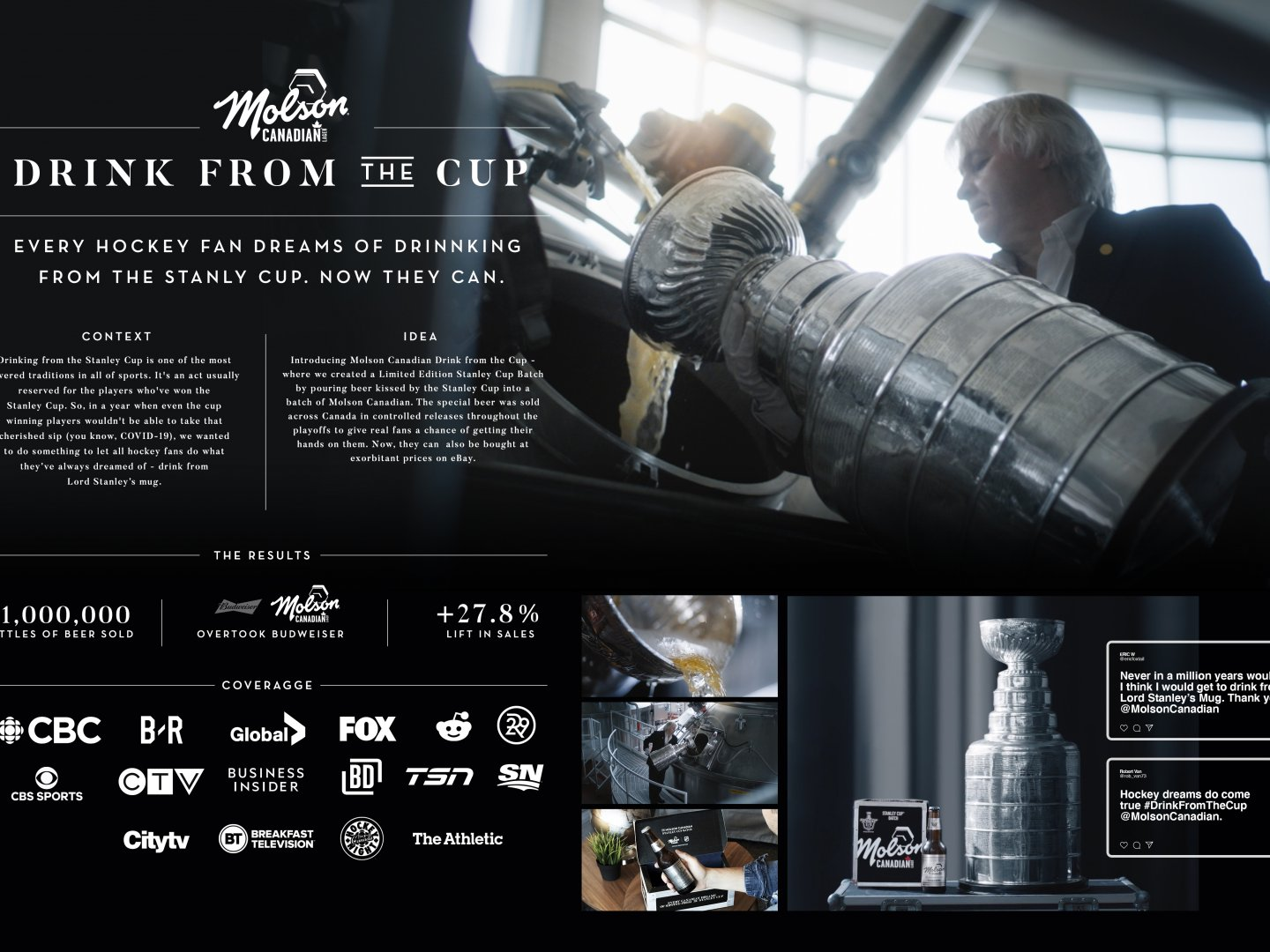 Molson Canadian Stanley Cup Batch Thumbnail
