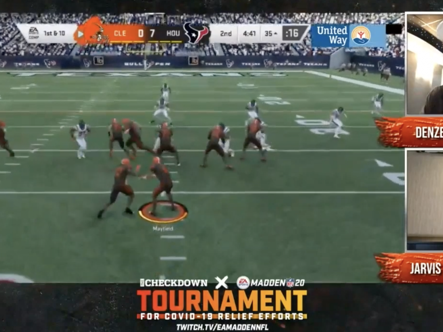 NFL x Madden Covid Relief Tournament  Thumbnail