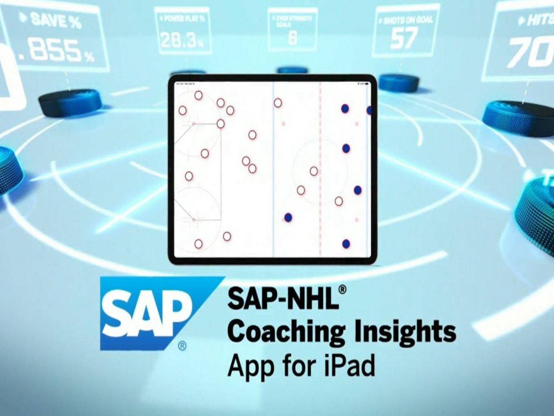 SAP NHL Coaching Insights App for iPad Thumbnail