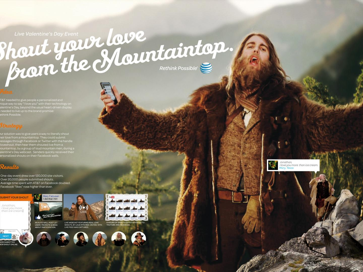 Shout From the Mountain Integrated Campaign Thumbnail