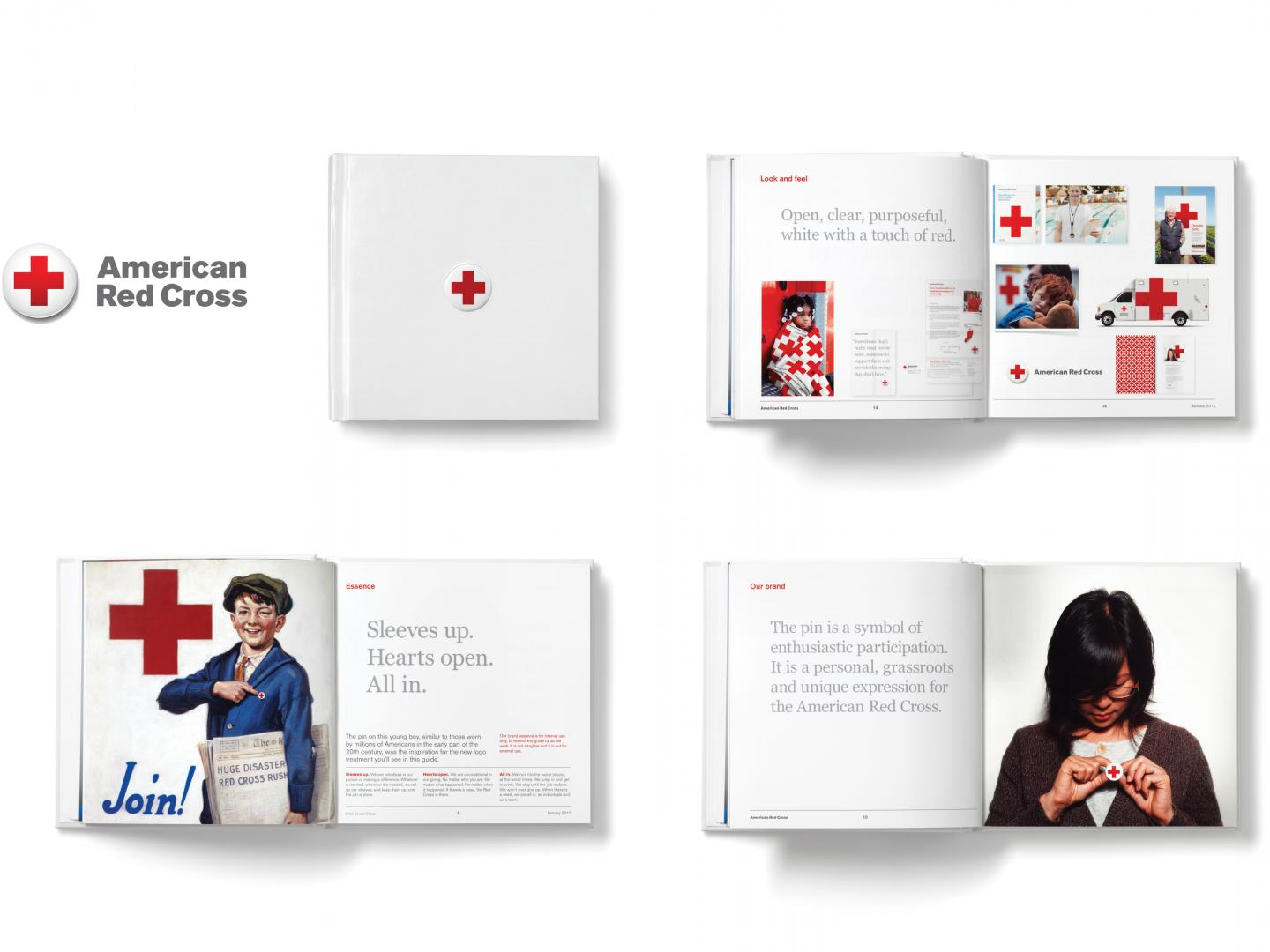 American Red Cross Visual Identity Thumbnail