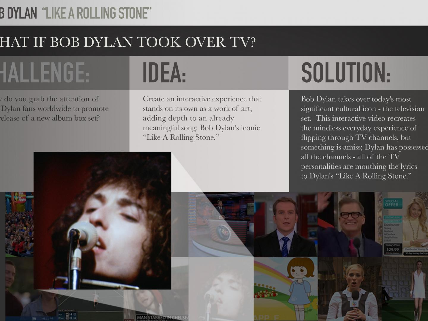 Like a Rolling Stone – Interactive Music Video Thumbnail