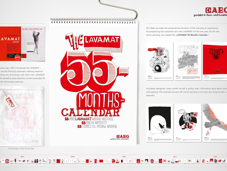 The LAVAMAT 55-month-calendar Thumbnail