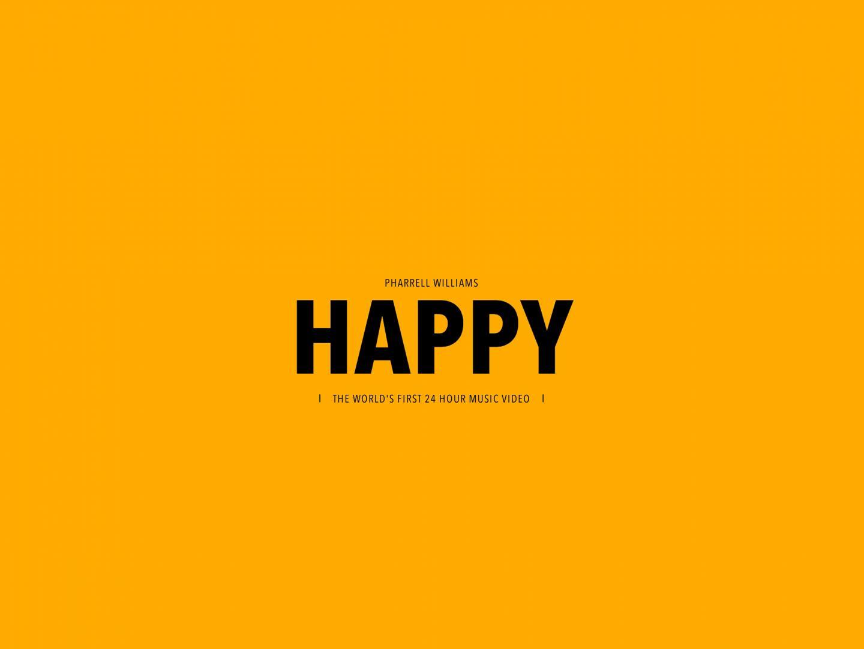 PHARRELL WILLIAMS - 24 HOURS OF HAPPY Thumbnail