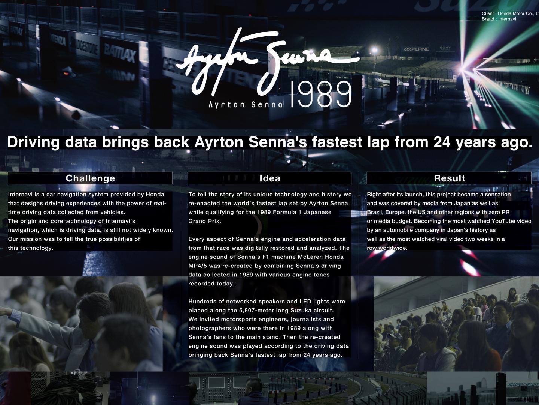 Sound of Honda / Ayrton Senna 1989 Thumbnail