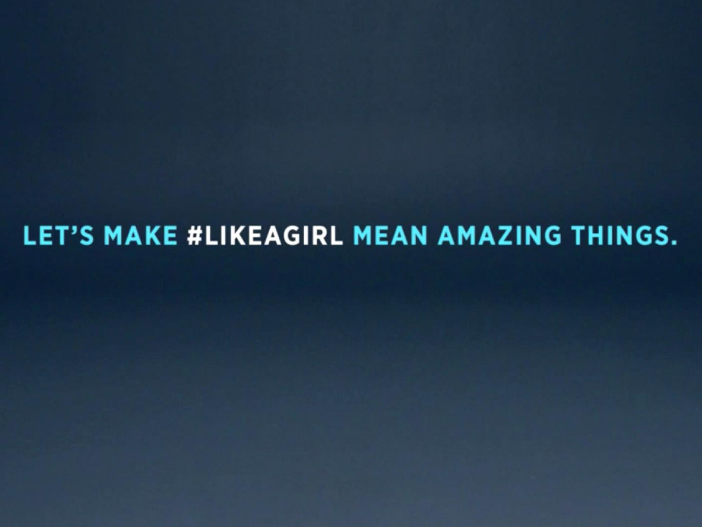 #LikeAGirl Thumbnail