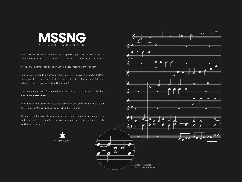 MSSNG- DNA Music Thumbnail