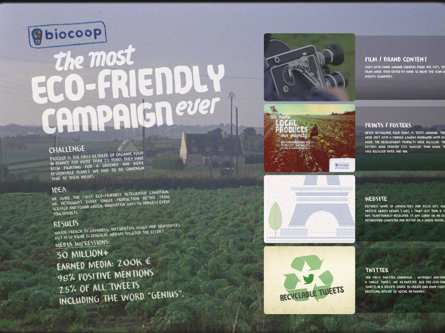 The Most Eco-Friendly Campaign Ever Thumbnail