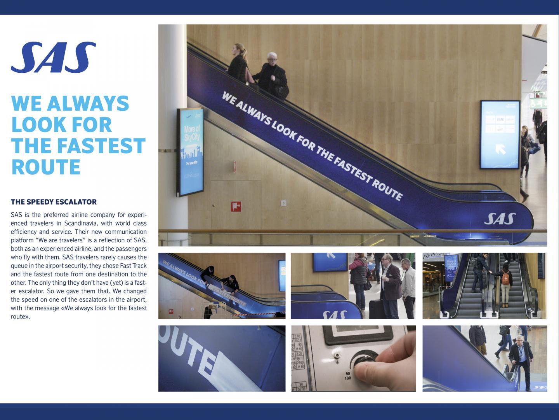 SAS Escalator Thumbnail