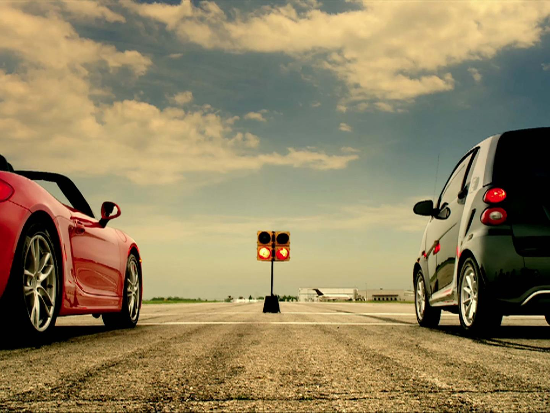 smart electric drive drag race Thumbnail
