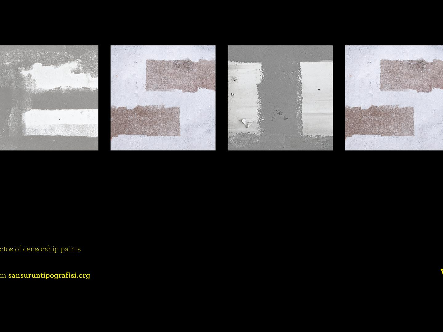 Image for TYPOGRAPHY OF CENSORSHIP -