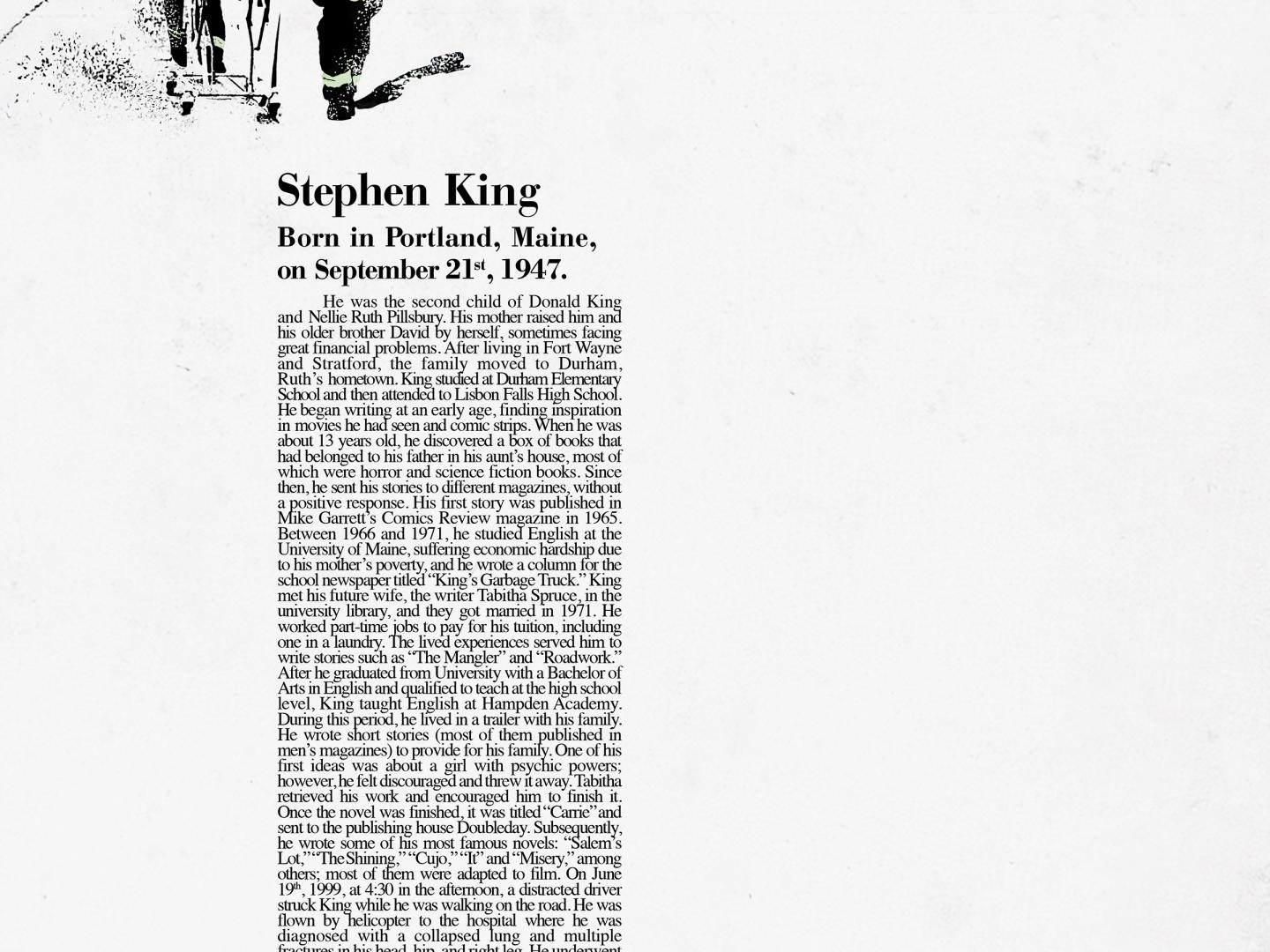 Stephen King Thumbnail
