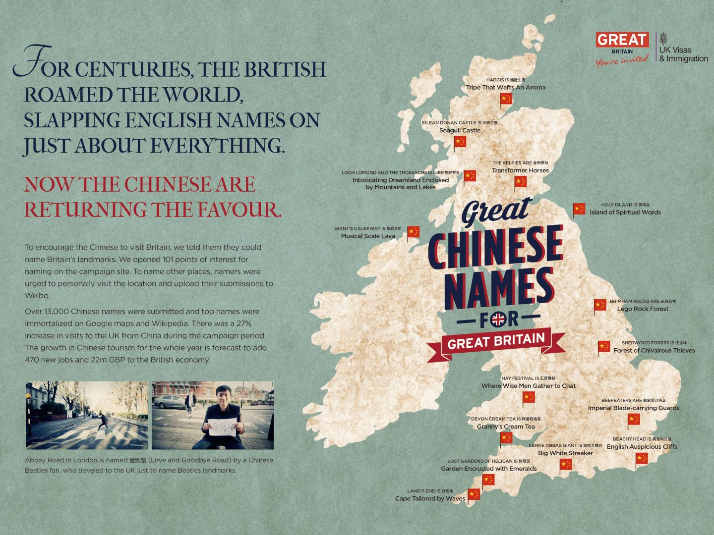 Great Chinese Names for Great Britain Thumbnail