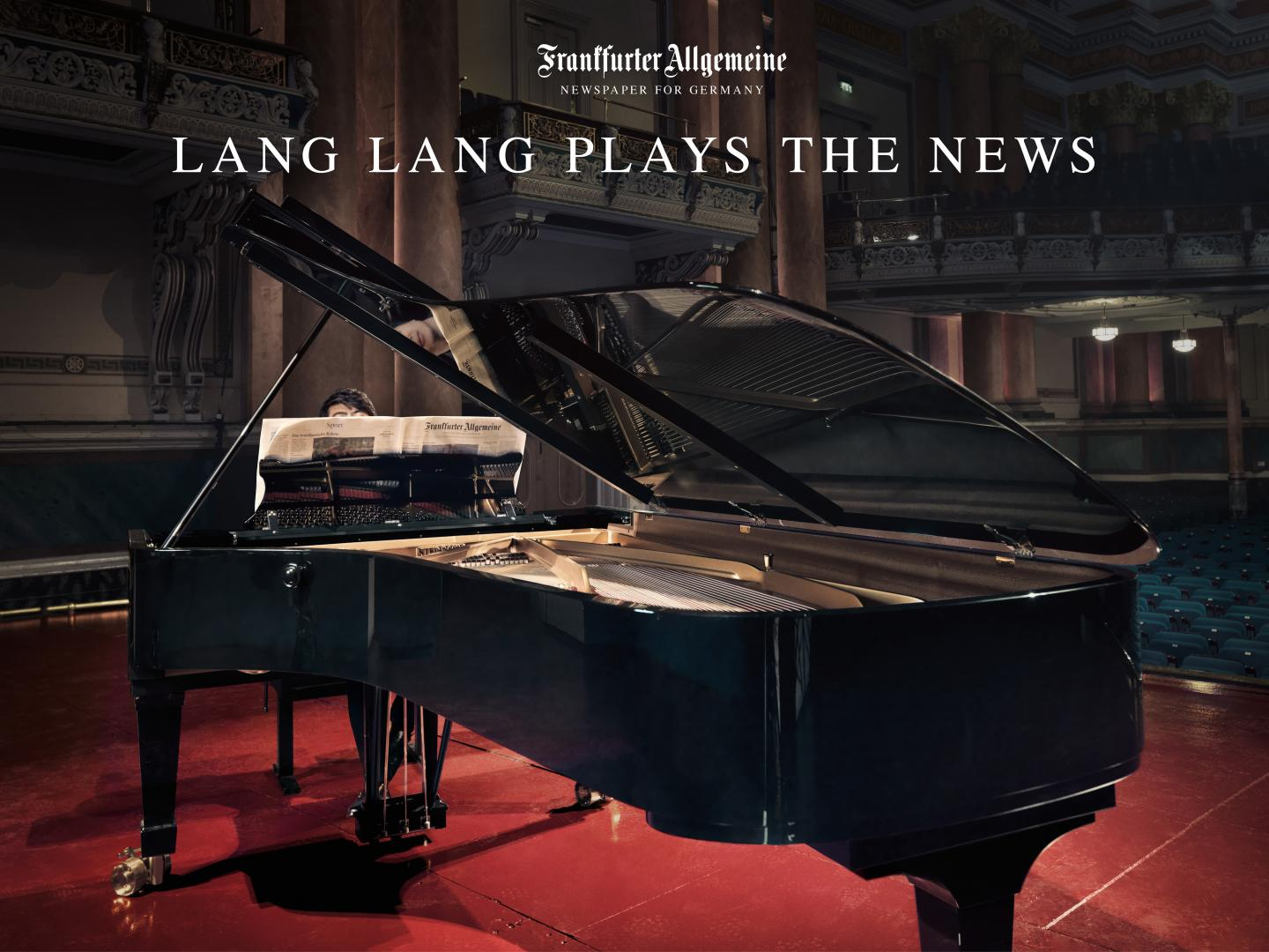 Lang Lang plays the F.A.Z. - Germany's leading newspaper Thumbnail