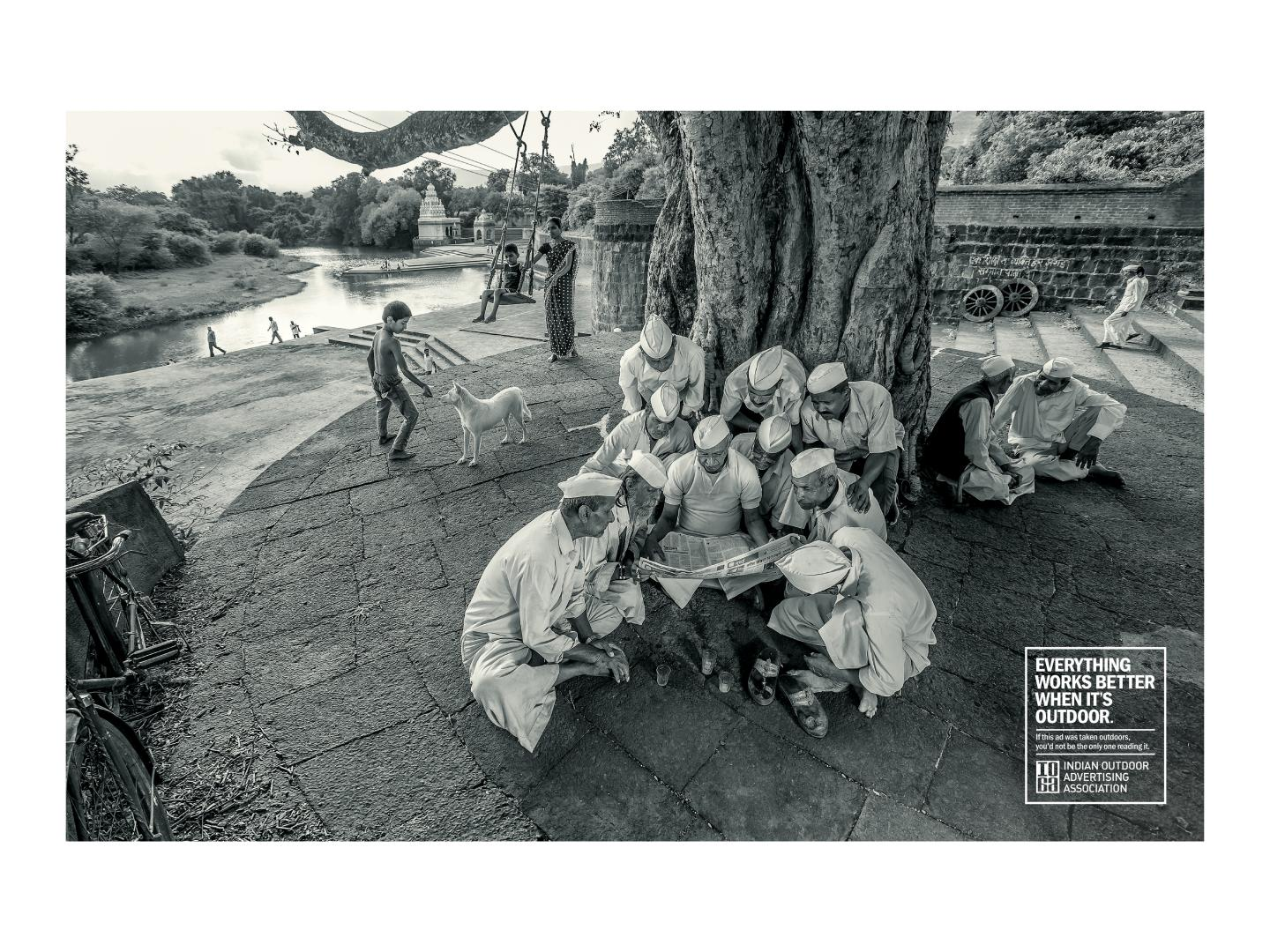 Image for Newspaper works best in Outdoor