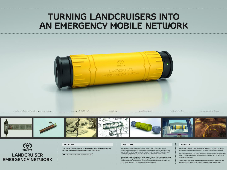 LandCruiser Emergency Network Thumbnail