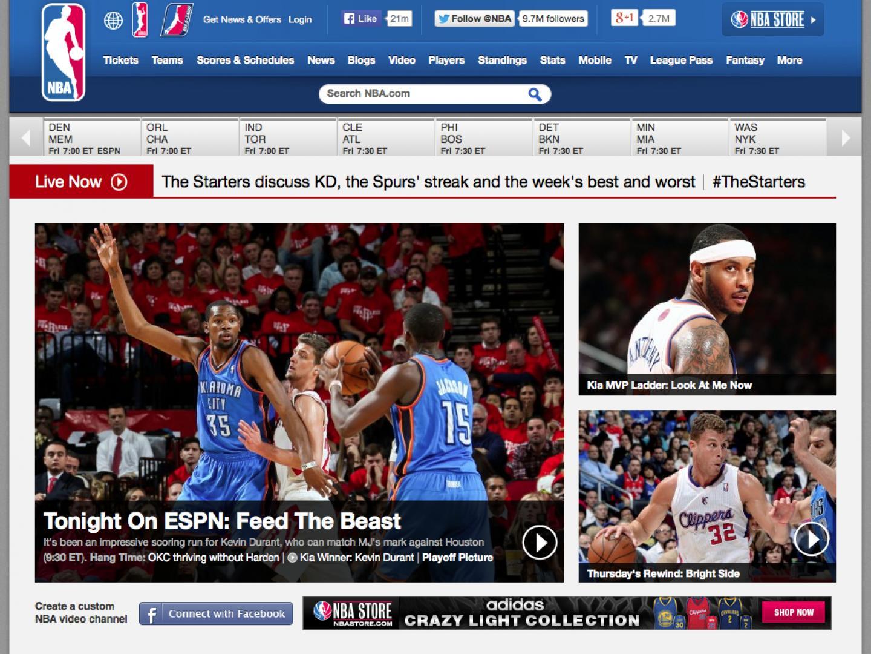 NBA.com Thumbnail