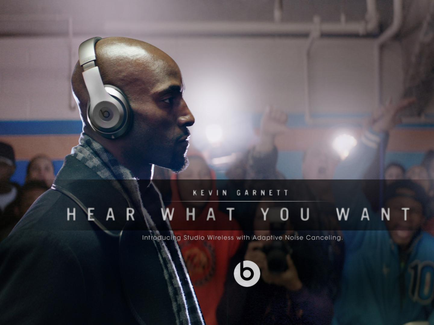 Image for Beats by Dr. Dre - Hear What You Want - Kevin Garnett