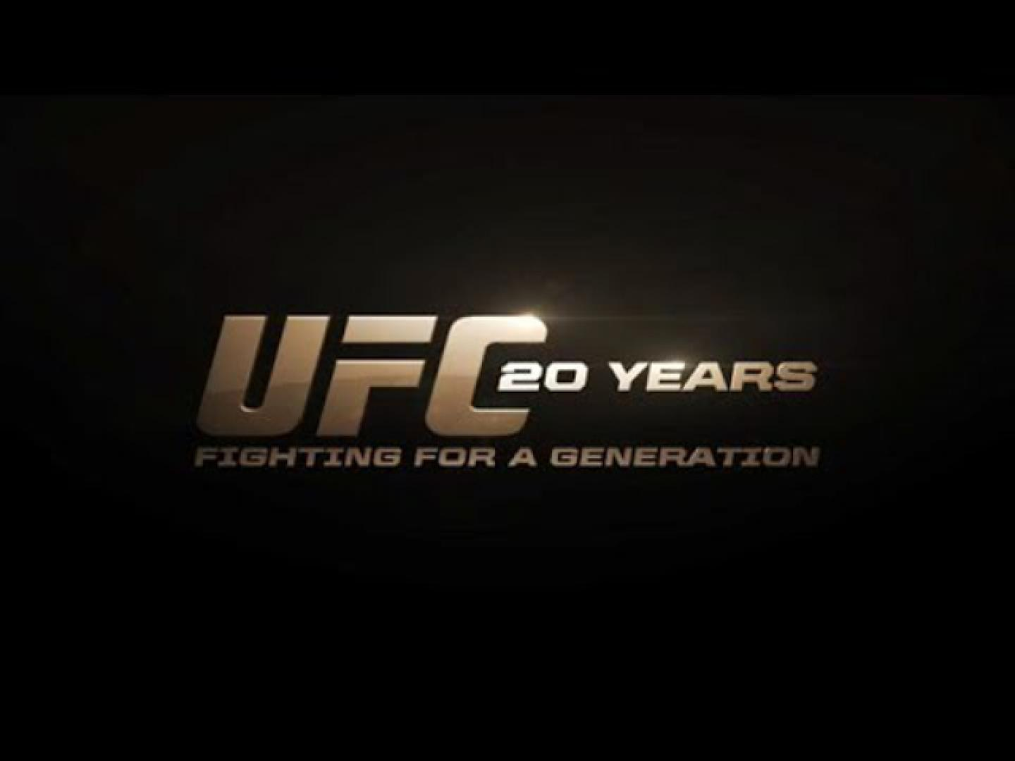 Fighting For A Generation: 20 Years Of The UFC Thumbnail