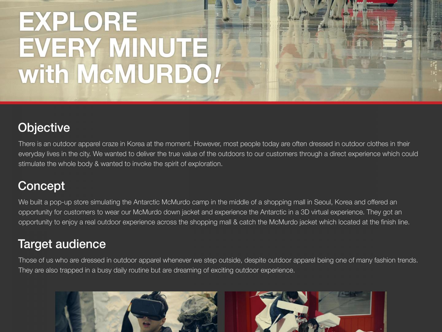 Explore Every Minute with McMURDO Thumbnail