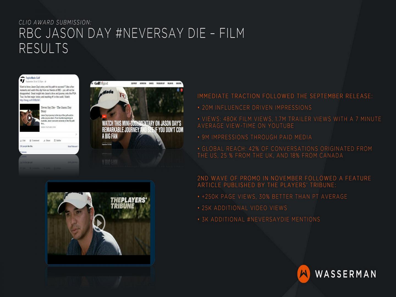 Jason Day - Never Say Die Thumbnail