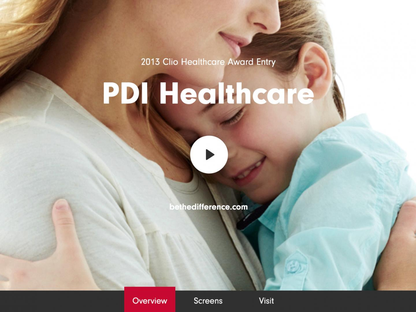 PDI Healthcare Official Website Thumbnail