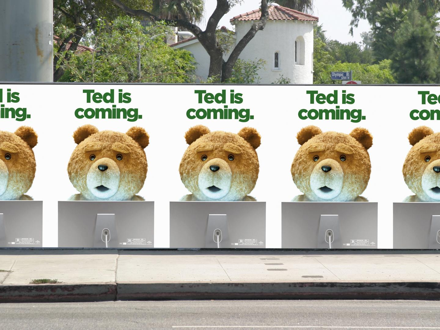Ted is coming. Thumbnail