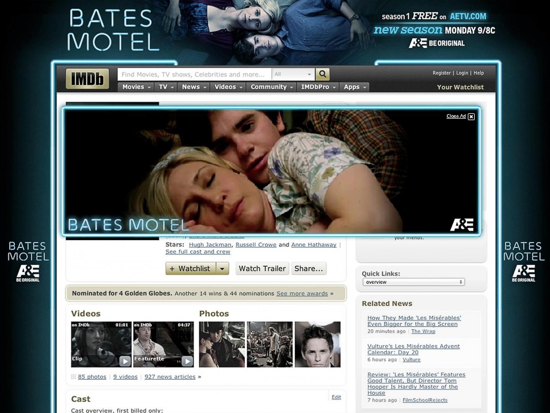 Bates Motel Season 2 IMDB Thumbnail