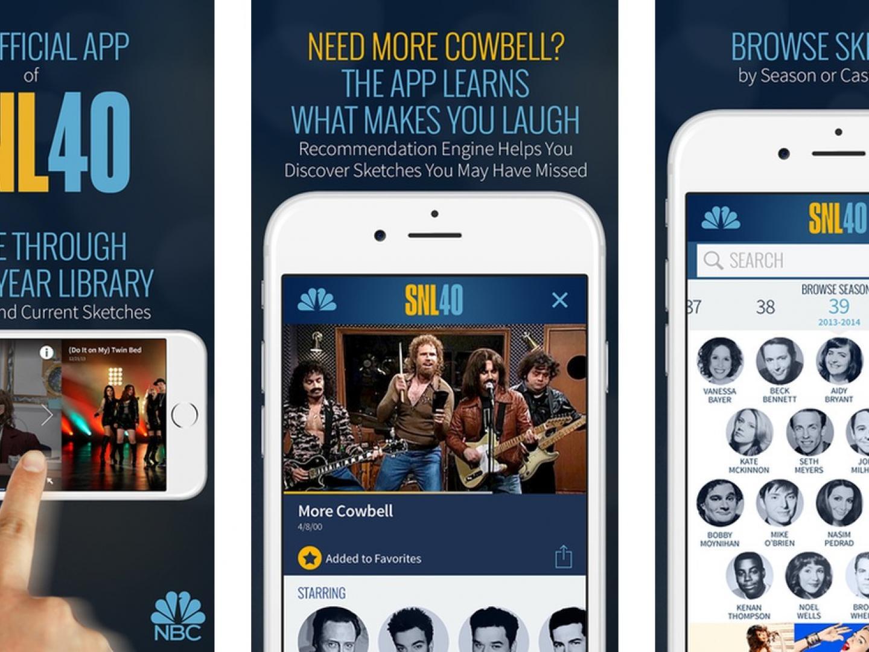 SNL 40 App Thumbnail