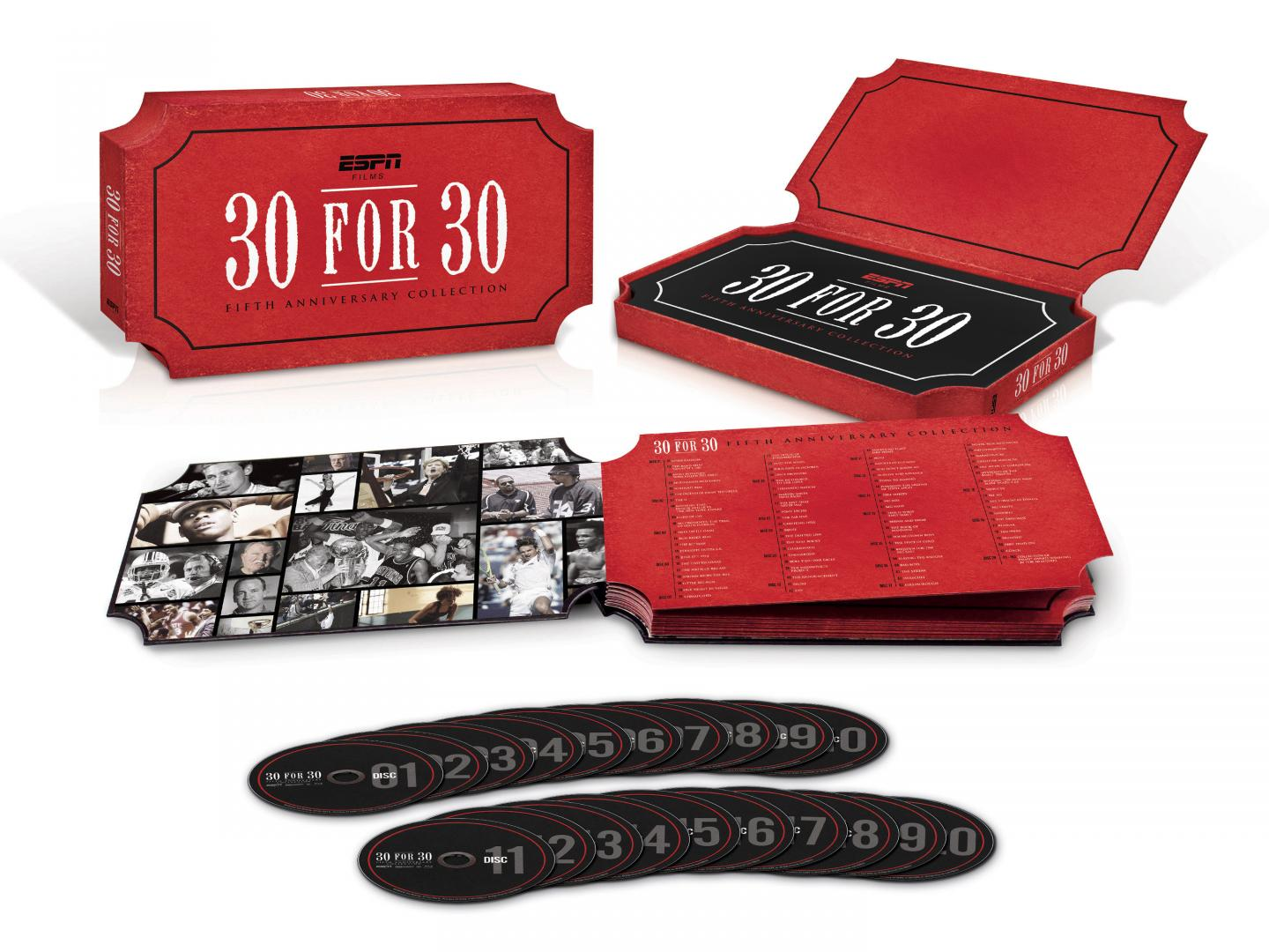 ESPN Films 30 for 30 Fifth Anniversary Collection Thumbnail