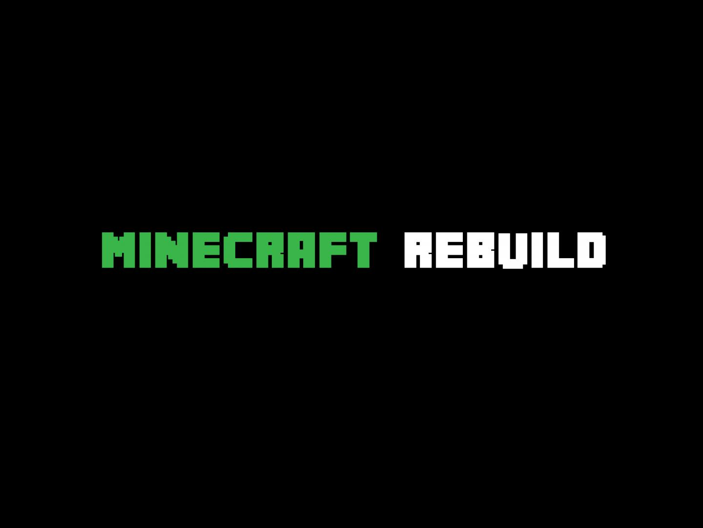 Minecraft Rebuild Thumbnail