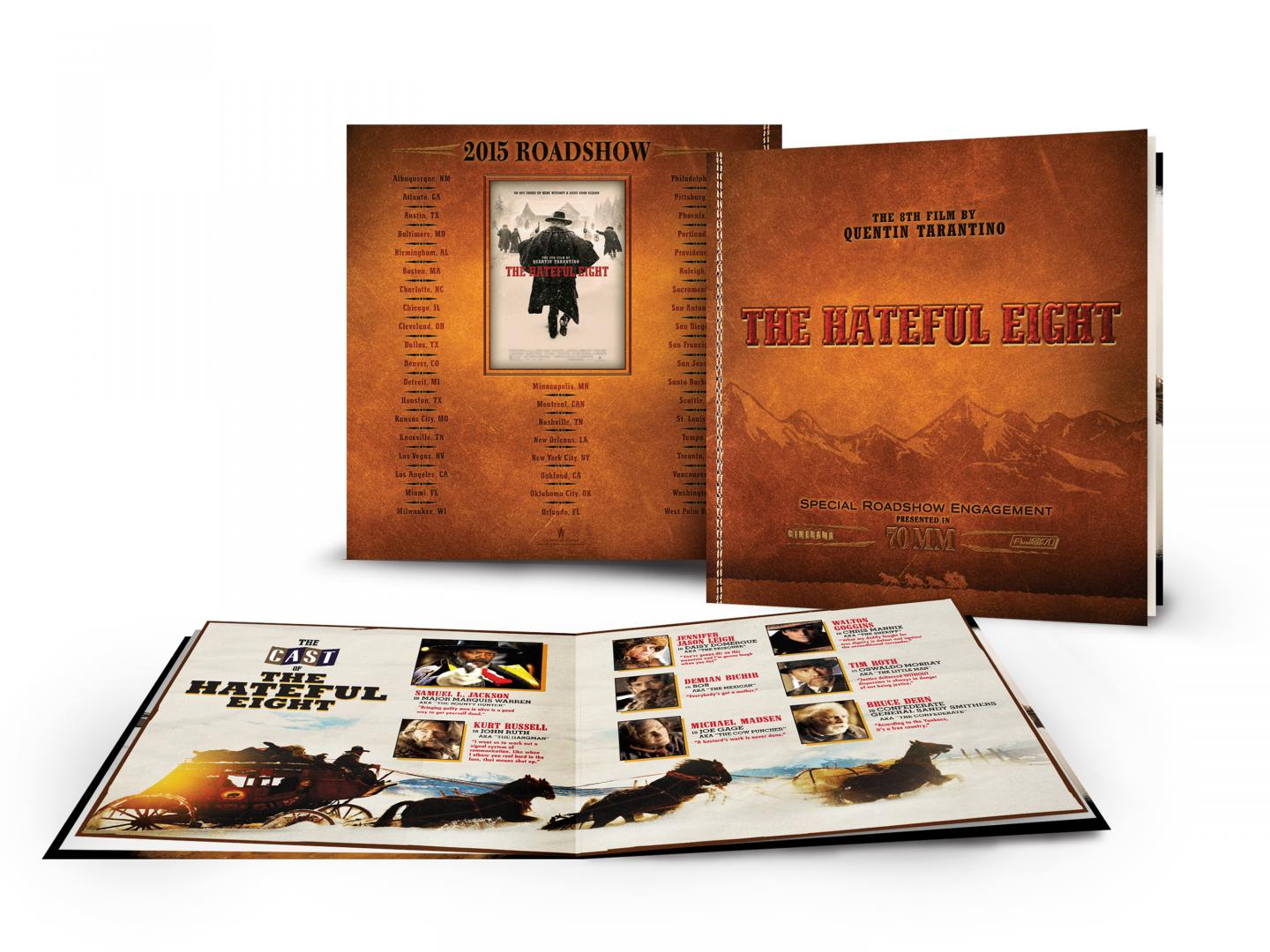 The Hateful Eight Roadshow Booklet Thumbnail