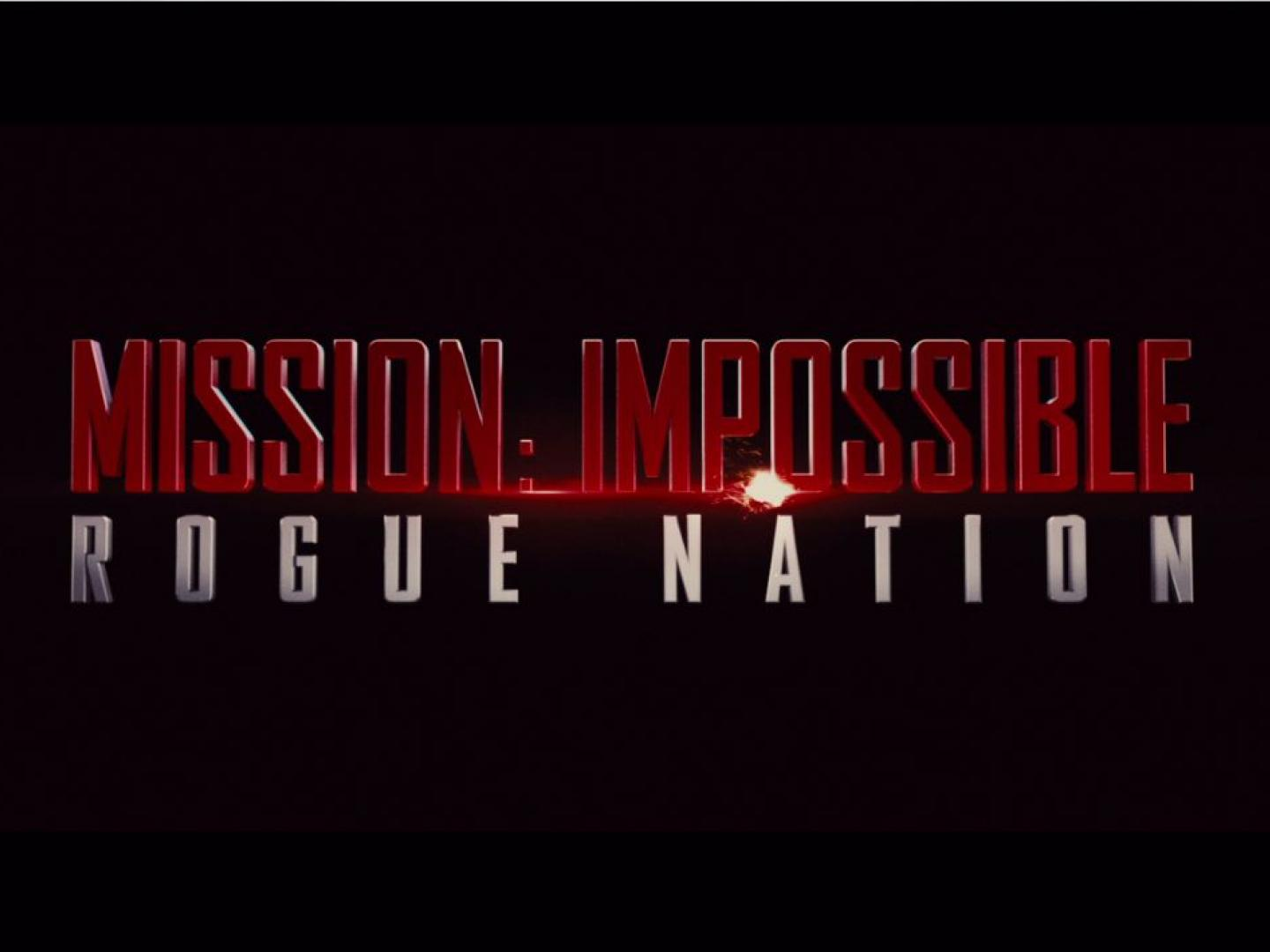 Mission Impossible: Rogue Nation Thumbnail