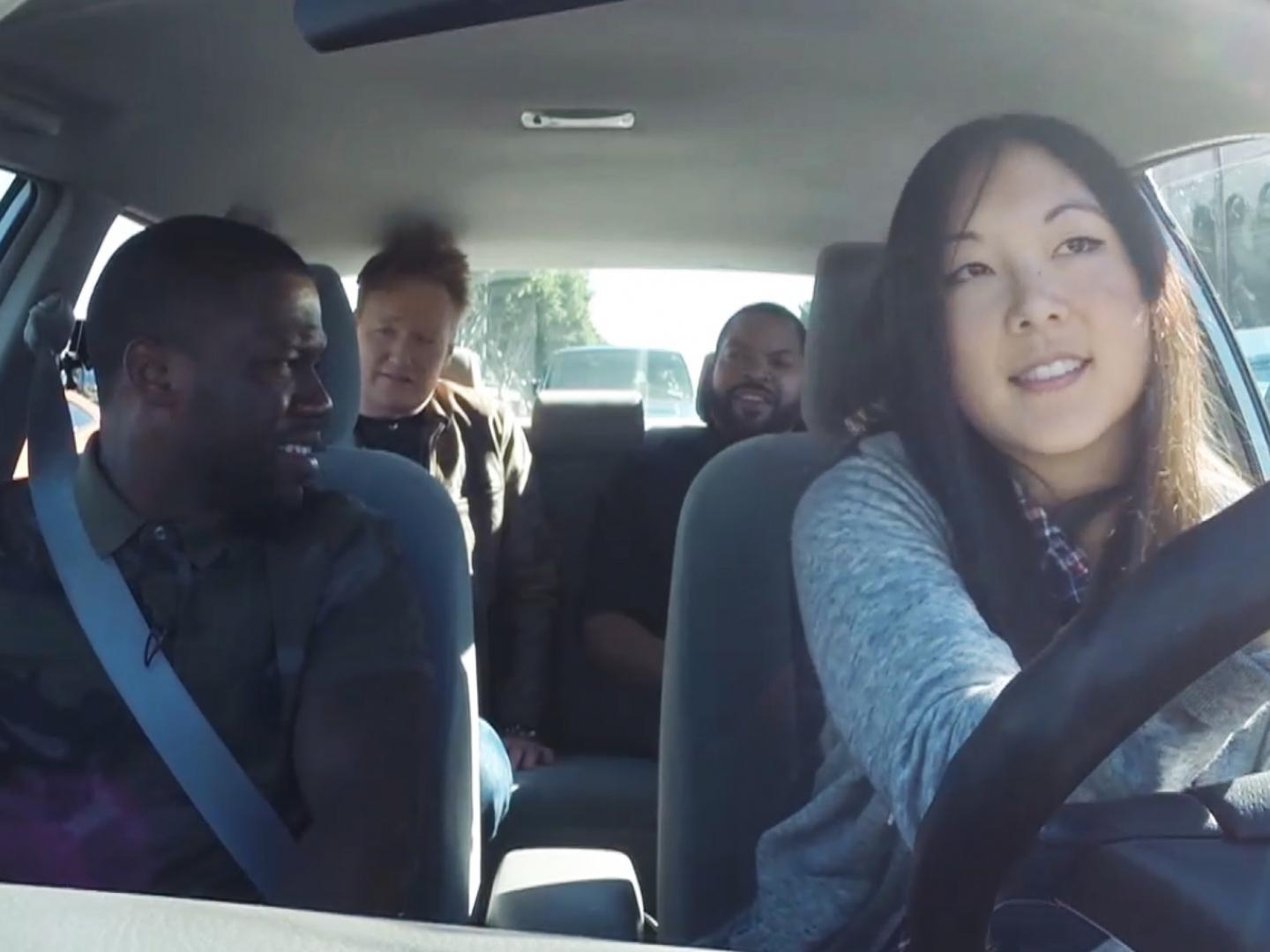 Conan Ride Along with Kevin Hart and Ice Cube Thumbnail