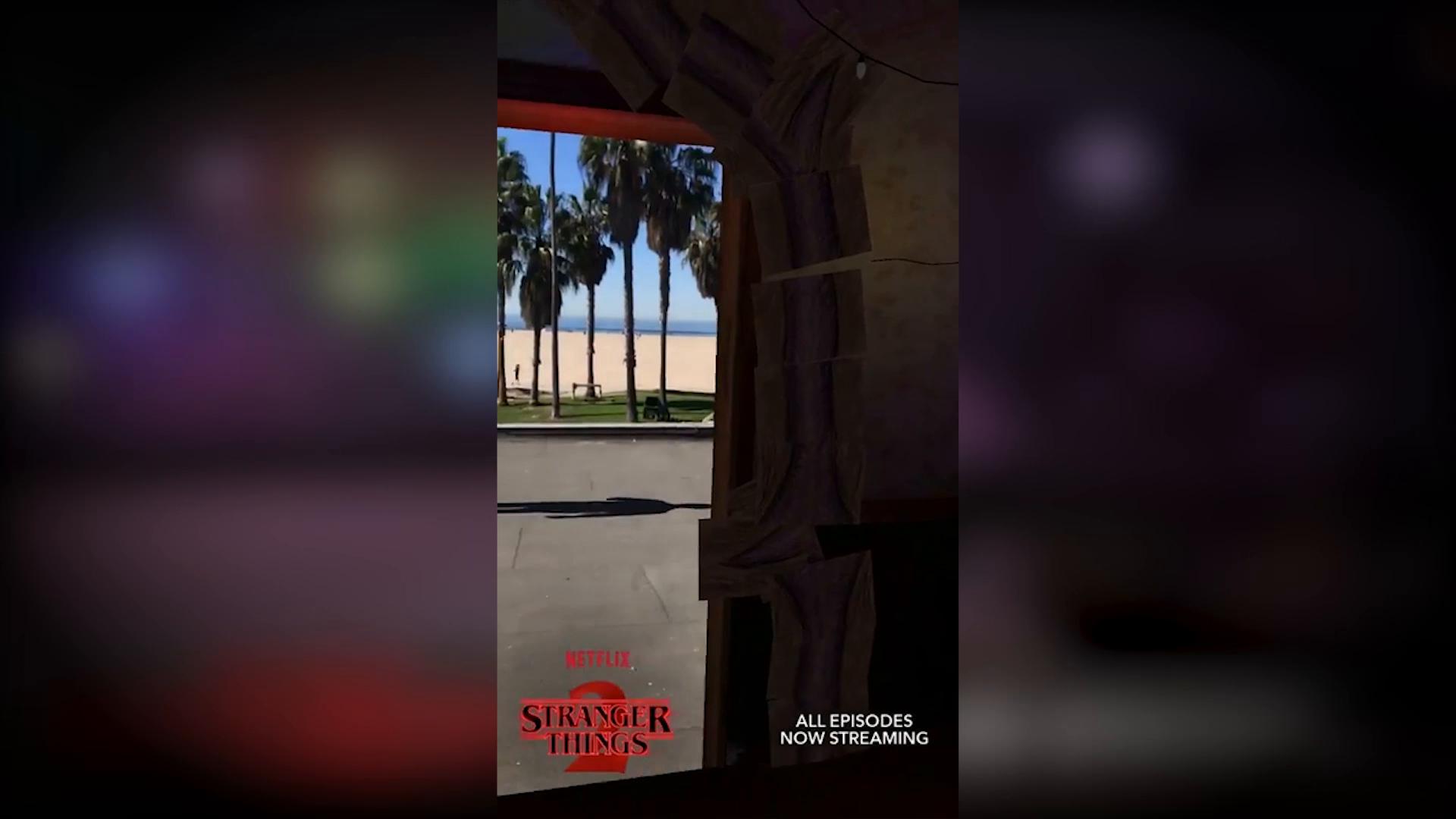 Thumbnail for Stranger Things + Snapchat's AR Portal Lens