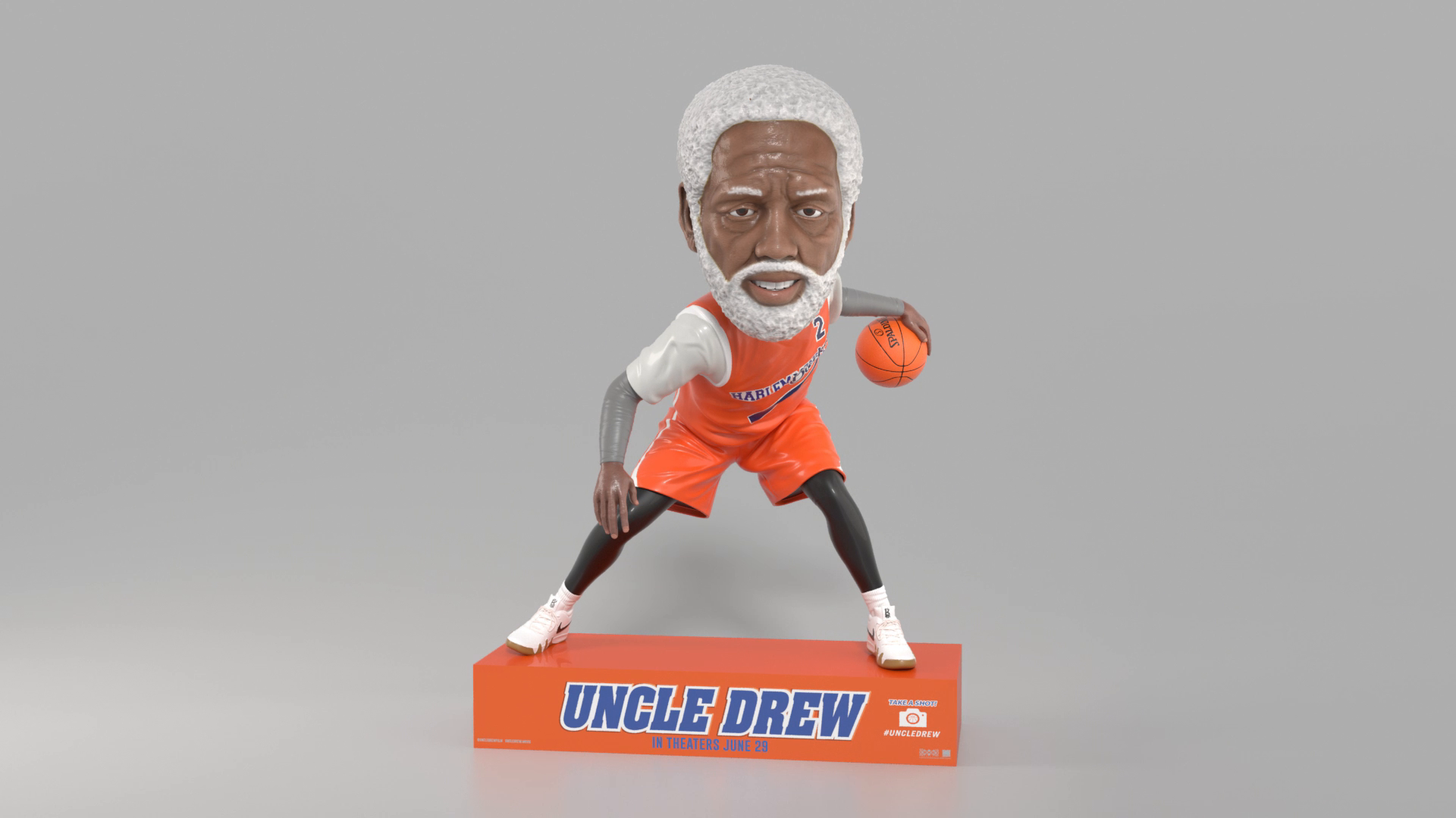 Thumbnail for Uncle Drew In-Theatre Standee