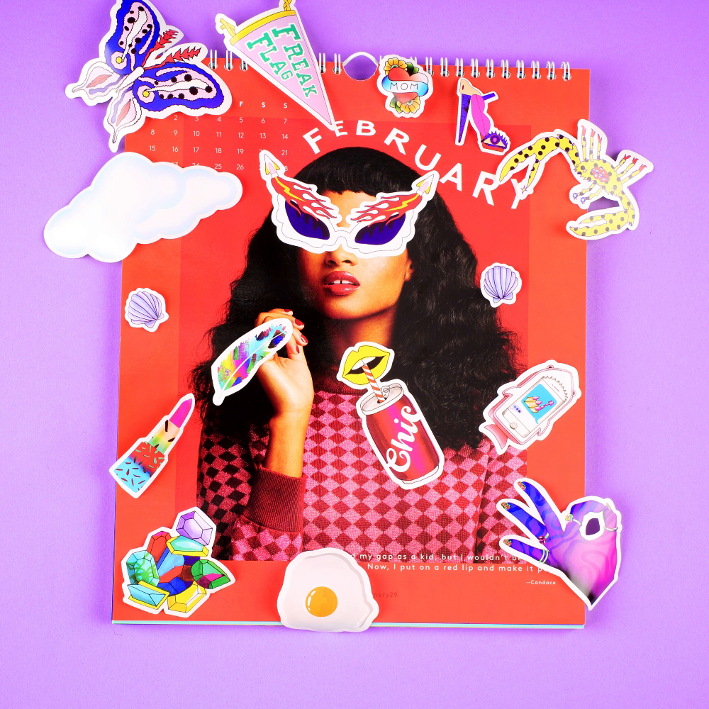 Thumbnail for Refinery29's 2016 Stick Out! Calendar