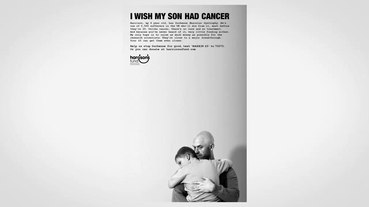 Thumbnail for I WISH MY SON HAD CANCER